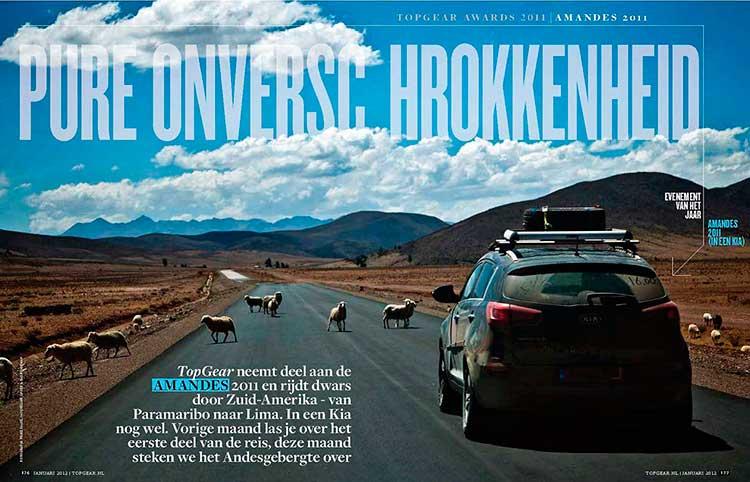 Reportagefotografie, artikel Top Gear; foto gemaakt door fotograaf Feike Faase