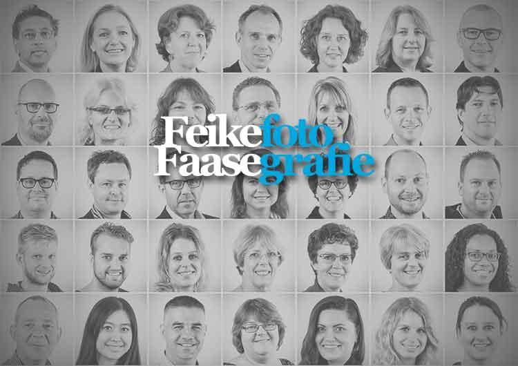 Bedrijfsfotografie, diverse zakelijke portretten; foto gemaakt door fotograaf Feike Faase