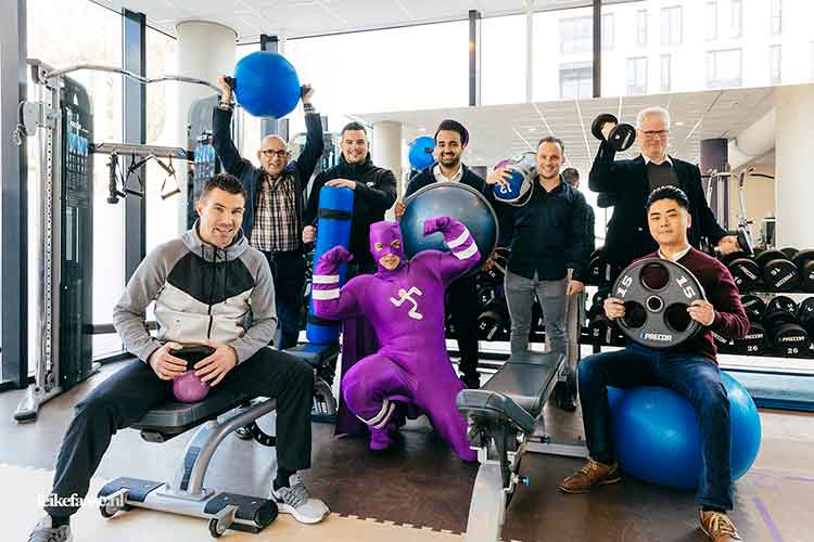 AnytimeFitness Franchise Plus redactioneel portret door Feike Faase